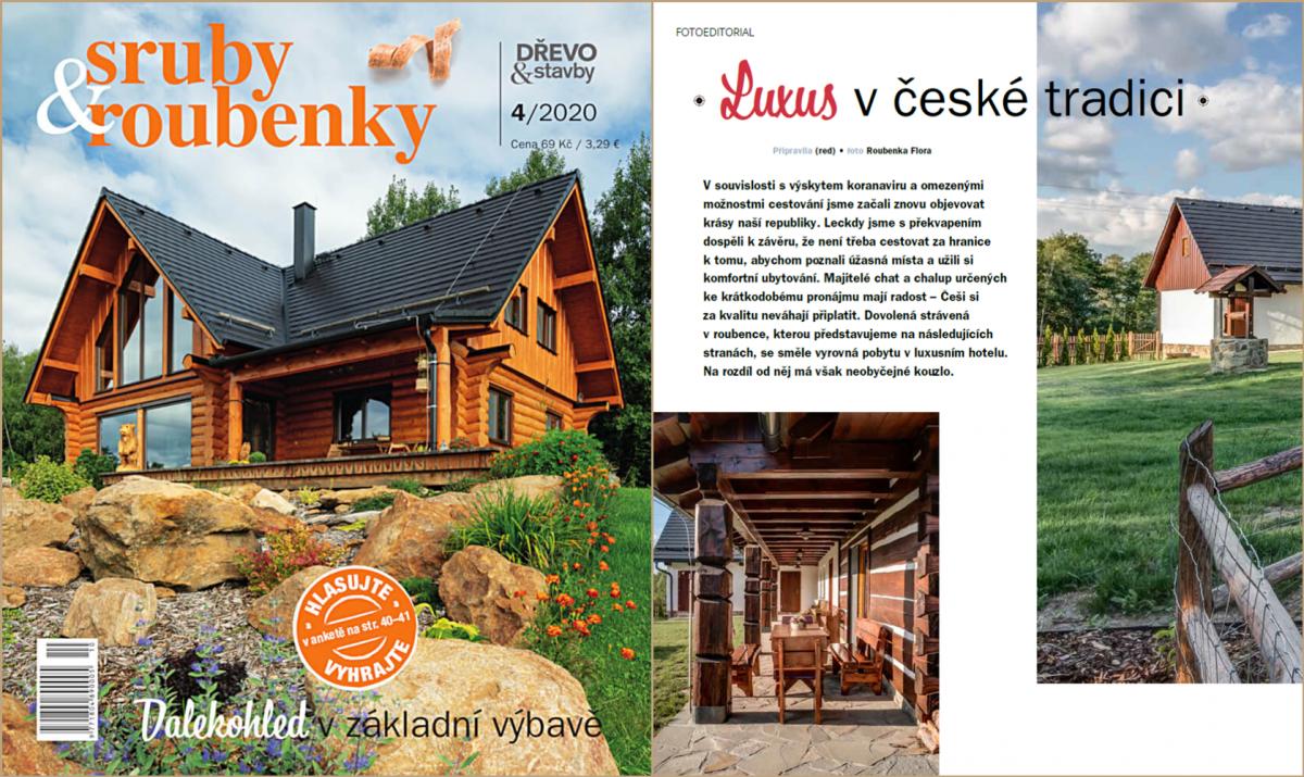 Časopis sruby&roubenky 4/2020